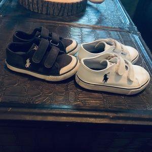Children's Ralph Lauren Polo Tennis Shoes Size 7